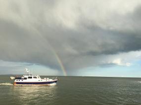 Calm after the storm, Mudeford Quay
